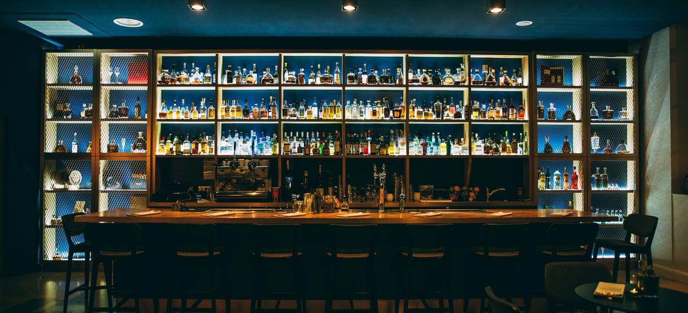 bar louise cognac back bar bright