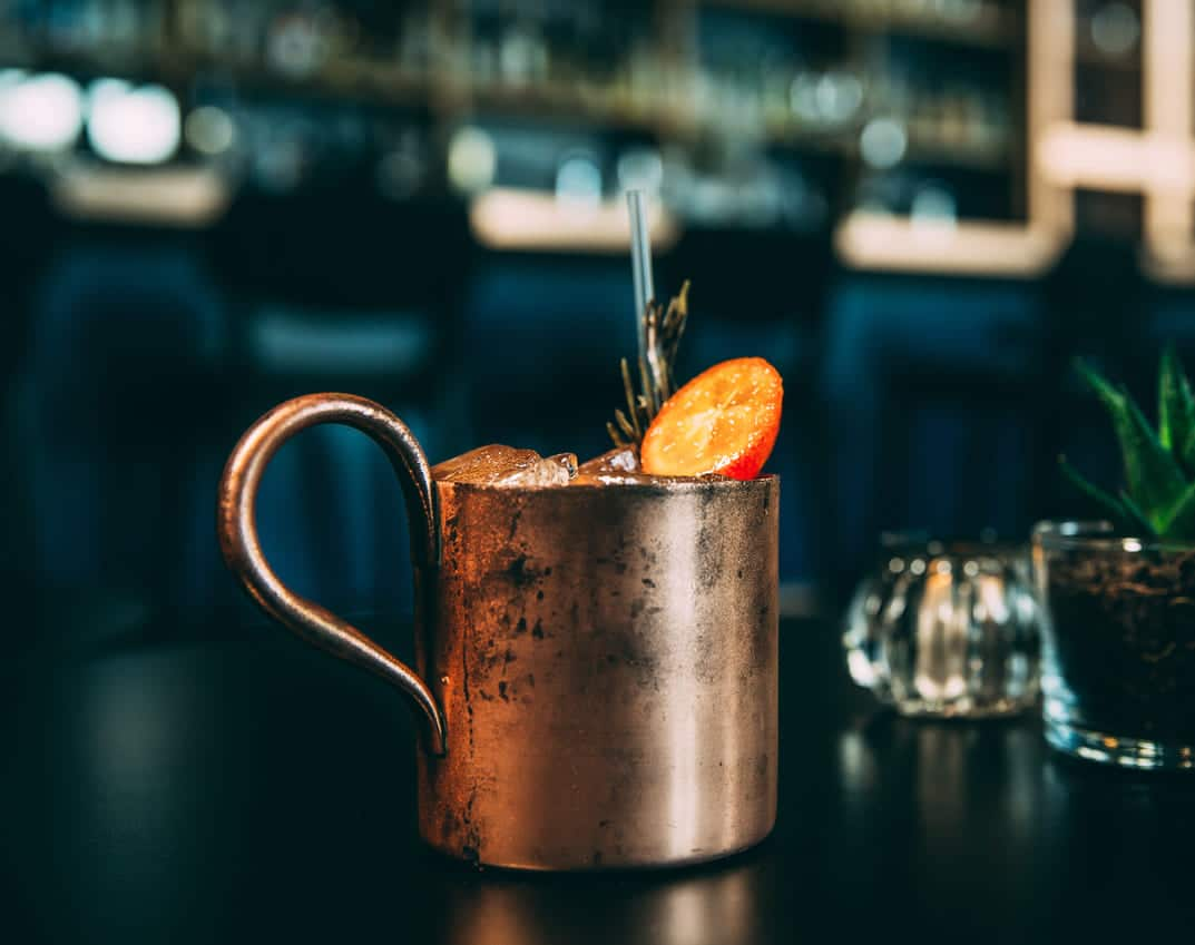 bar louise cognac mule